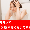 「2万円ってめっちゃ高くないですか?」